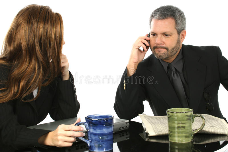Download Man Taking Important Call stock photo. Image of serious - 17544912