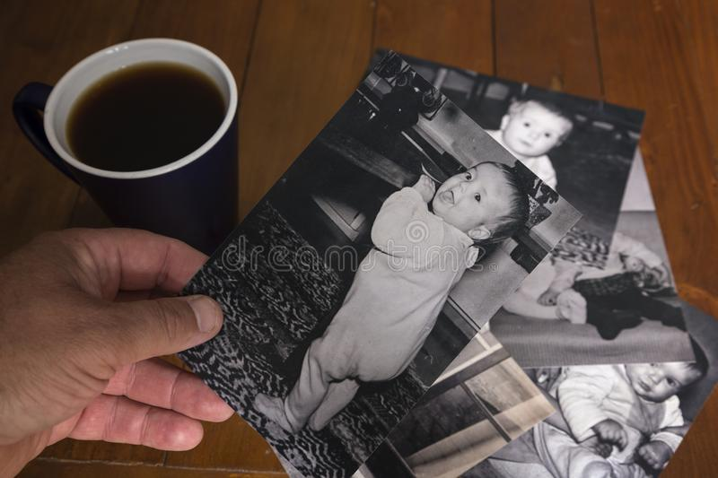 Remembering Through Photographs Stock Image - Image of photographs ...