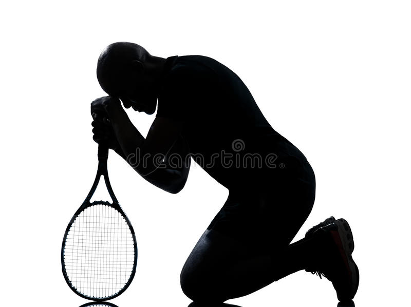 Download Man Tennis Player Royalty Free Stock Photography - Image: 24867777
