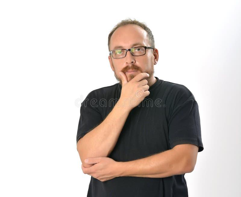 Man Thinking stock photos