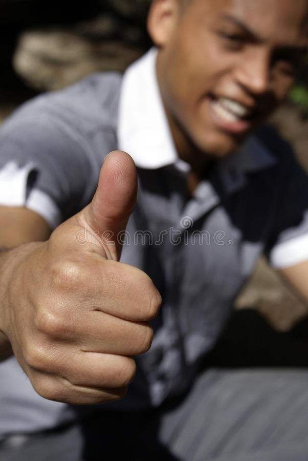Download Man with thumb Up stock image. Image of expression, beauty - 11054415