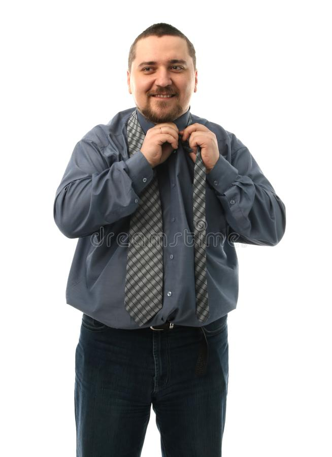 Man With A Tie Free Stock Images