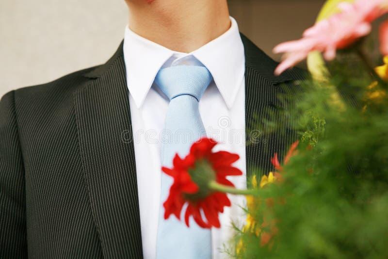 Man with tie stock photo