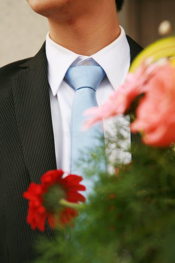 Man with tie stock photos