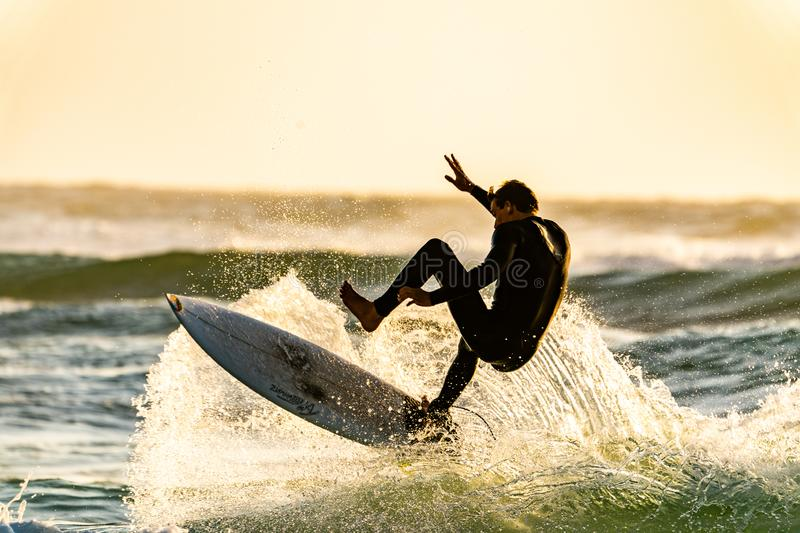 Man About To Wipeout Of His Surfboard Free Public Domain Cc0 Image