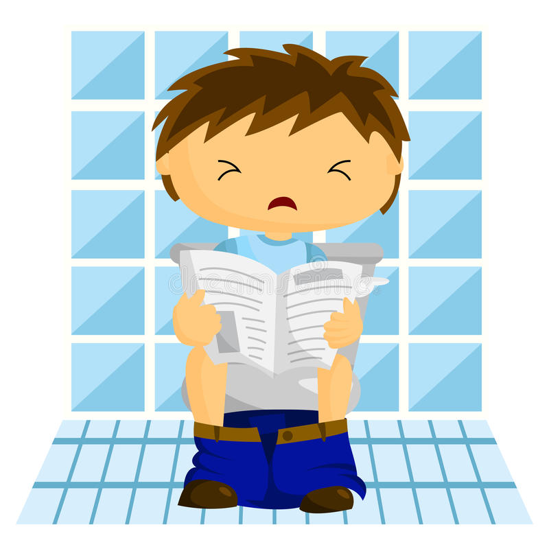 Download Man In Toilet Stock Photo - Image: 31777390