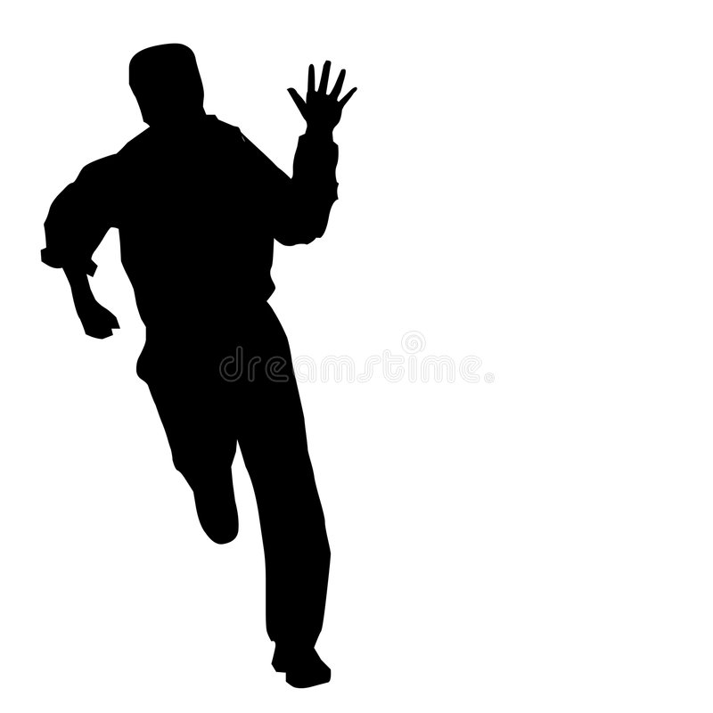 Download A Man too late stock vector. Illustration of minutes, nice - 6767857