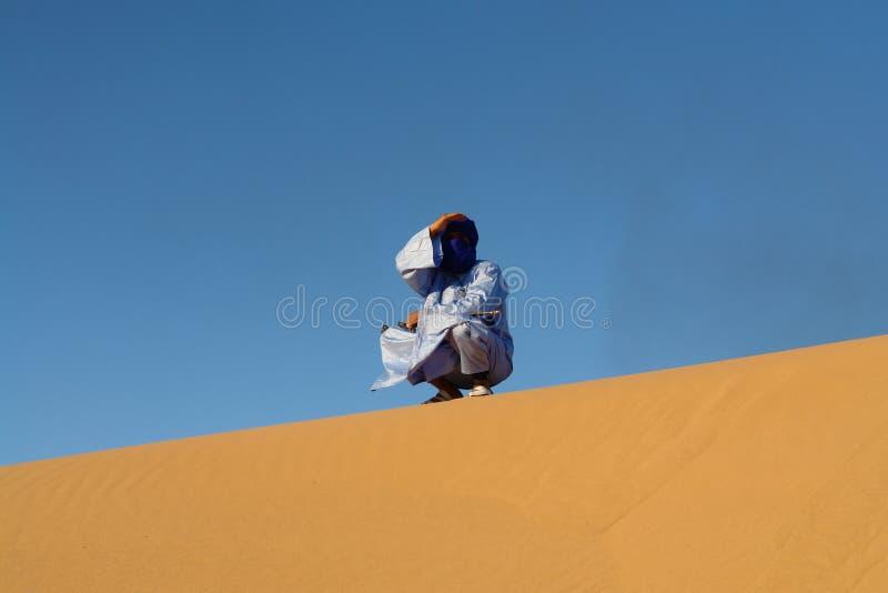 Man of touareg stock photos
