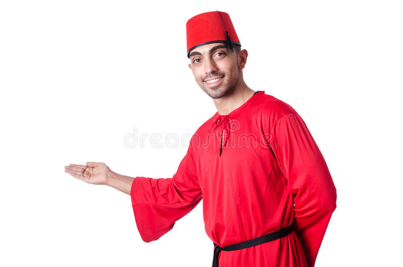 Man In Traditional Turkish Hat Stock Photos