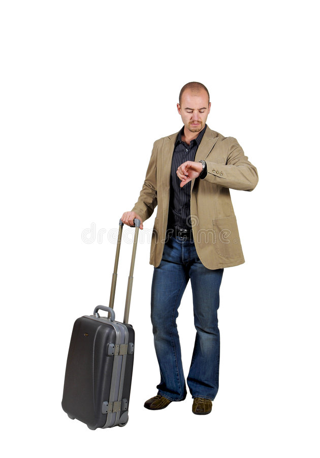 Man travel background stock image