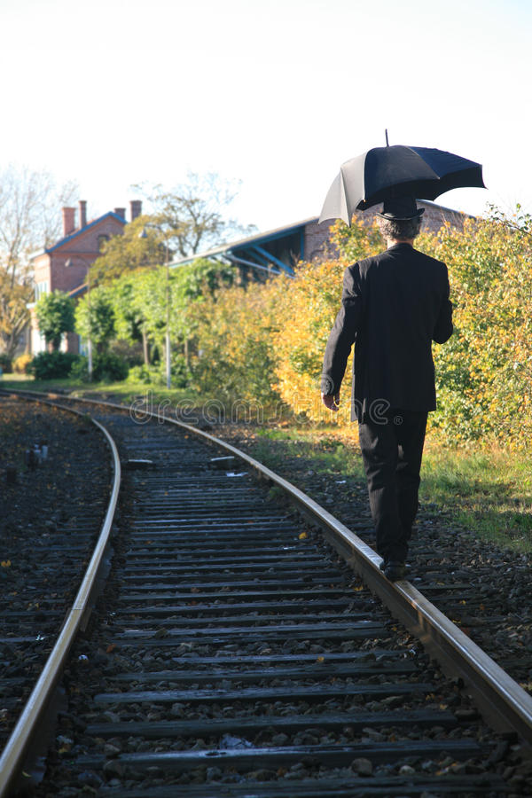 Download Man with umbrella stock image. Image of business, dangerous - 22317587