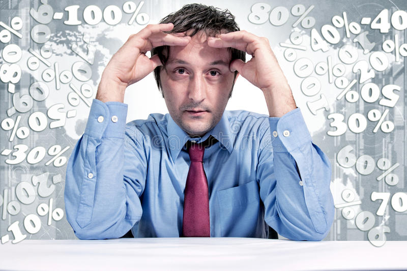 Finance problems stock photos