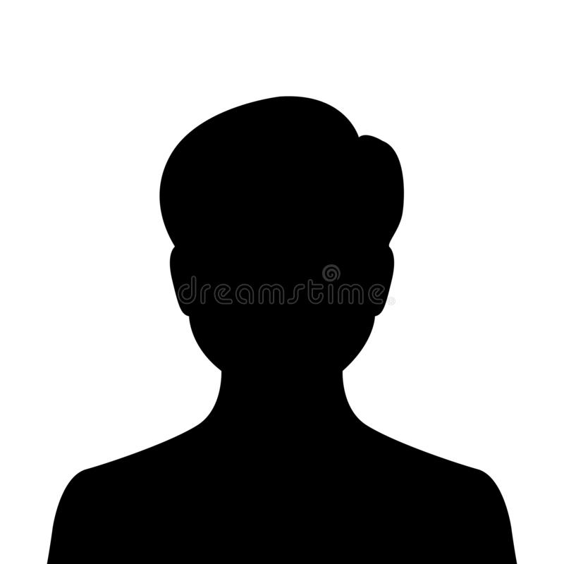 Man, user avatar icon, sign, profile symbol, flat person icon - vector. Man, user avatar icon, sign, profile symbol, flat person icon – stock vector vector illustration