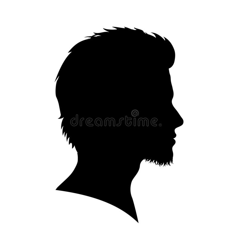 Man, user avatar icon, sign, profile symbol, flat person icon - vector. Man, user avatar icon, sign, profile symbol, flat person icon - stock vector vector illustration