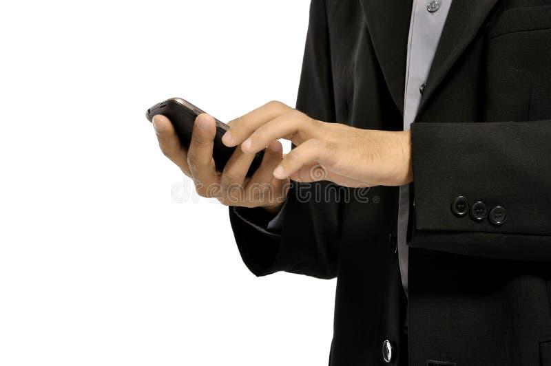 Man Using Cellphone