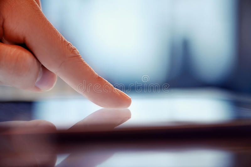 Download Man using digital tablet stock photo. Image of portable - 31649362