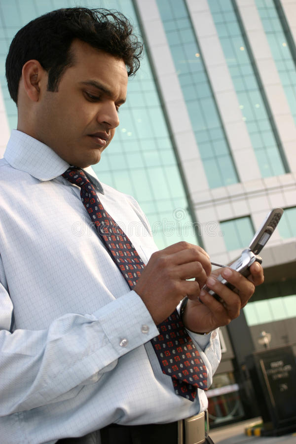 Download Man using mobile stock photo. Image of email, smart, mobile - 14344976