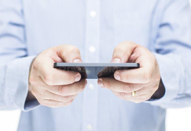 Download Man Using Mobile Phone Stock Photo - Image: 28866430