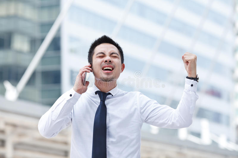 Download Man Using Mobile Smart Phone Stock Image - Image: 34594939