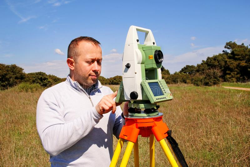 Total Station Stock Images - Download 1,461 Royalty Free Photos