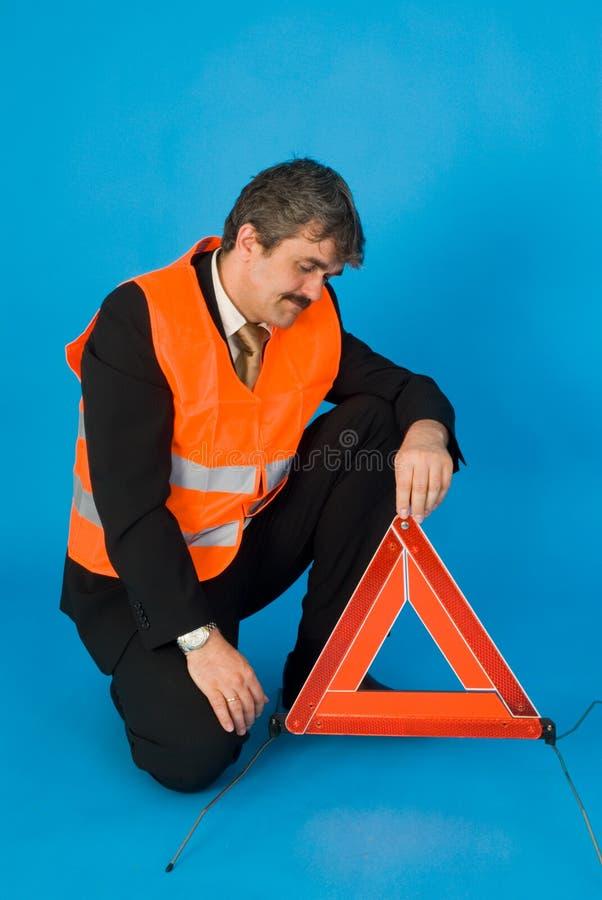 Download Man with vest stock image. Image of blue, help, vest, warning - 4875859