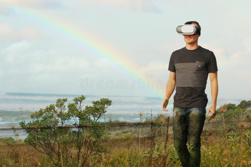Man With Vr Headset Free Public Domain Cc0 Image