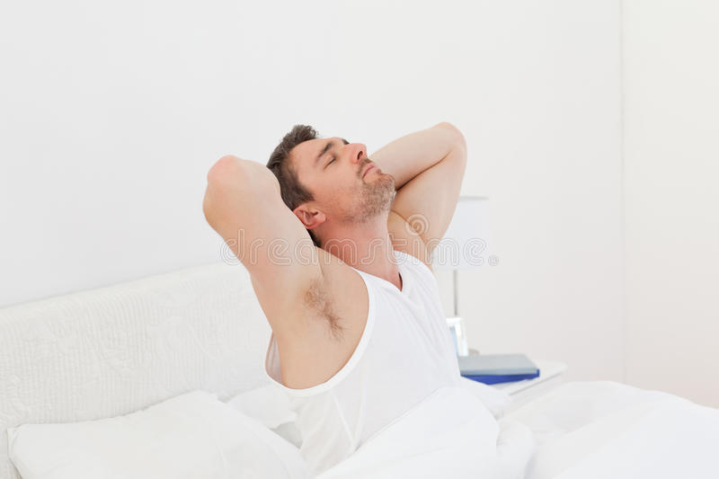 Download A Man  Waking Up Royalty Free Stock Photos - Image: 17938128