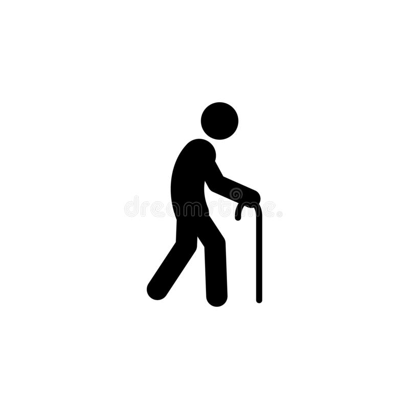 man, walk icon. Element of walking and running people icon for mobile concept and web apps. Detailed man, walk icon can be used fo vector illustration