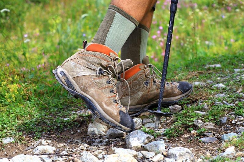 Download The man walking forward stock image. Image of mountain - 21337421