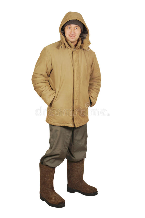 Download Man In Warm Clothes Stock Photography - Image: 28689782