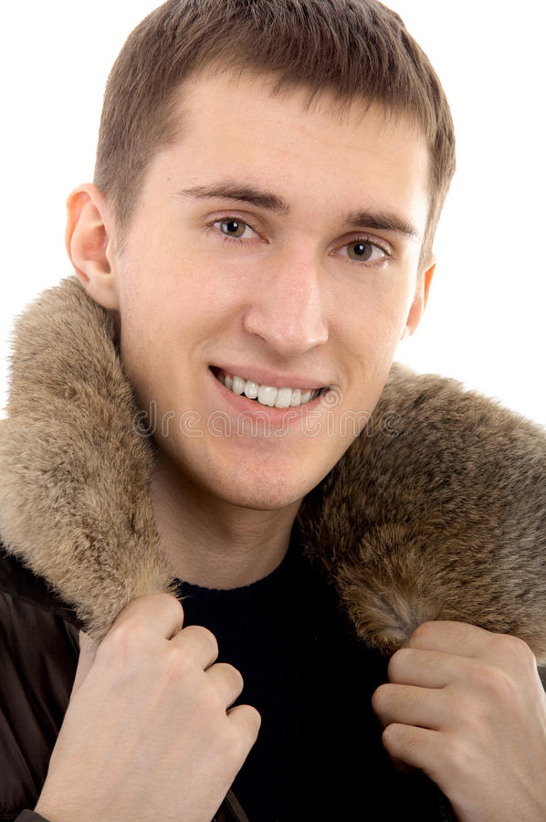 Download Man with warm clothing stock photo. Image of caucasian - 16486664