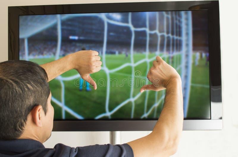 Download Man Watching Football Stock Images - Image: 29616894