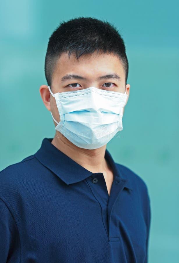 Man wear face mask