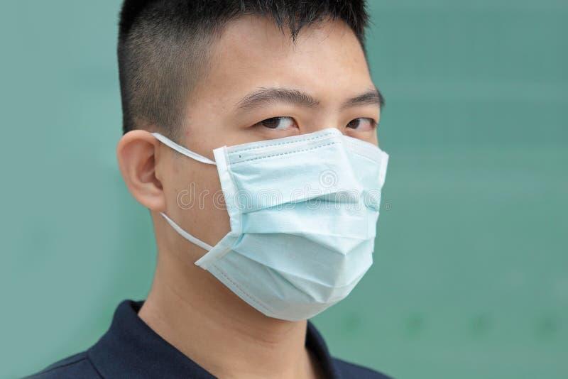 Man wear mask