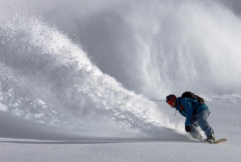 Man Wearing Blue Long Sleeve Jacket Snow Boarder During Day Time Free Public Domain Cc0 Image
