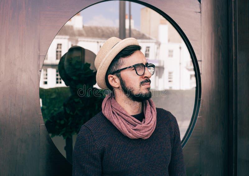 Man Wearing Brown Fedora Hat Photo Free Public Domain Cc0 Image