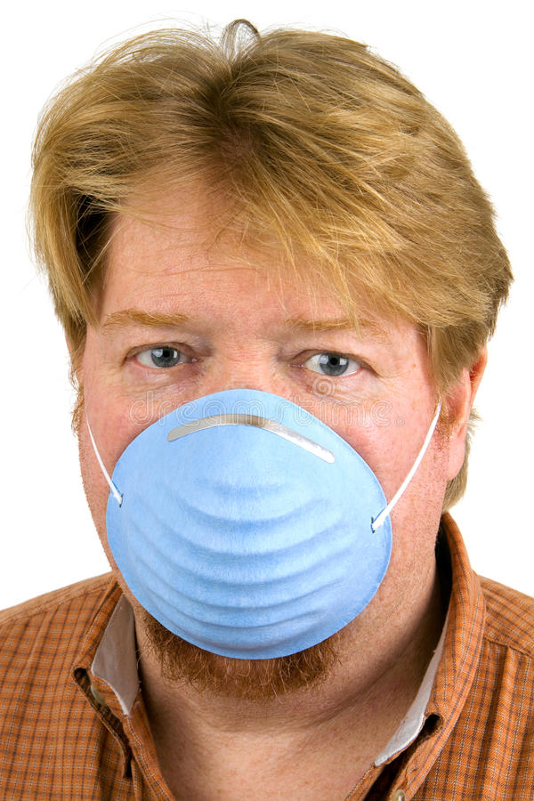 Download Man Wearing Dust Mask stock image. Image of fumes, smoke - 22719673