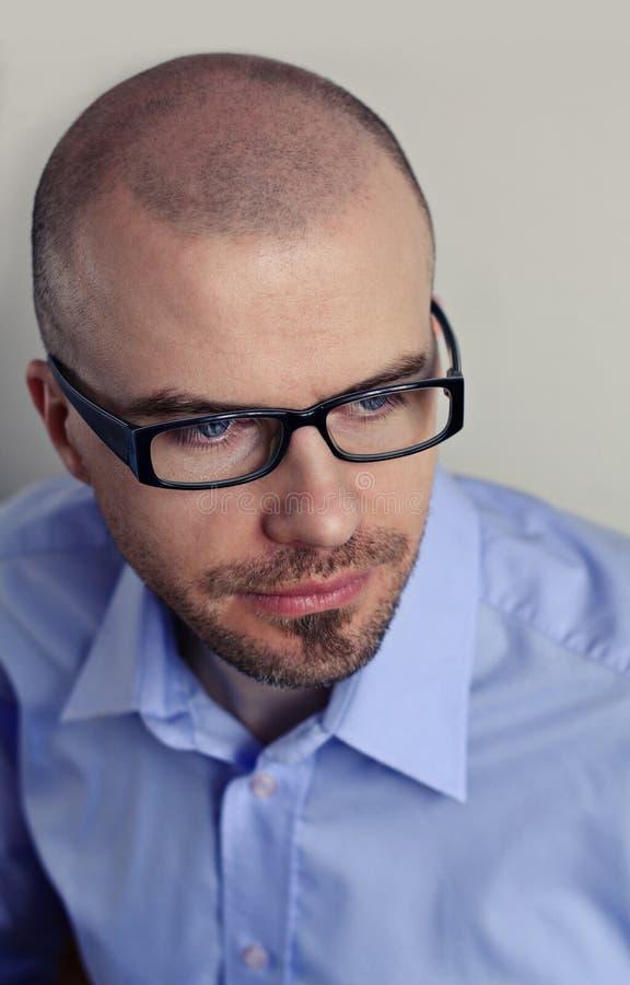 Download Man wearing glasses stock image. Image of wear, close - 26416921