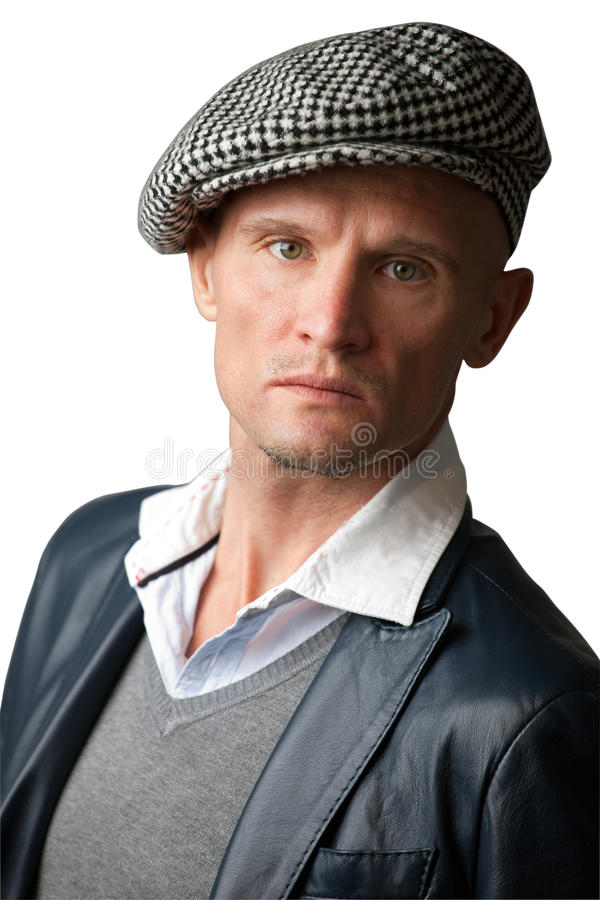 Download Man wearing hat stock photo. Image of strength, cocky - 15981180