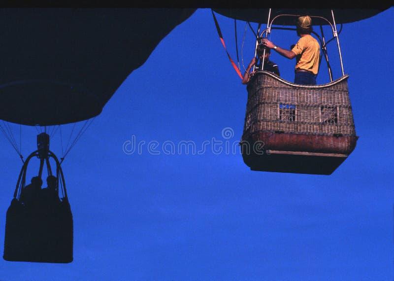 Man Wearing Orange T-shirt Riding On Brown Parachute Free Public Domain Cc0 Image