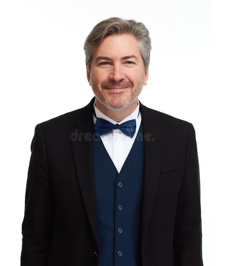 Businessman on white background. royalty free stock photos