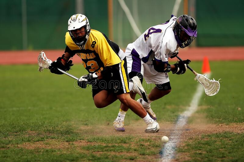 Man Wearing Yellow And Black Sport Jersey Holding Lacrosse Stick Free Public Domain Cc0 Image