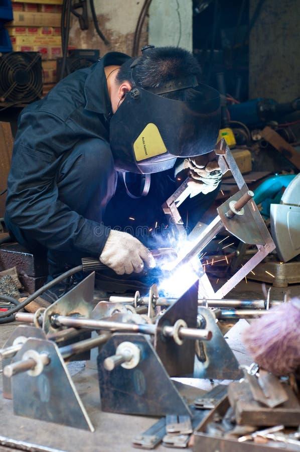 Free Man Welding Royalty Free Stock Photos - 14459098