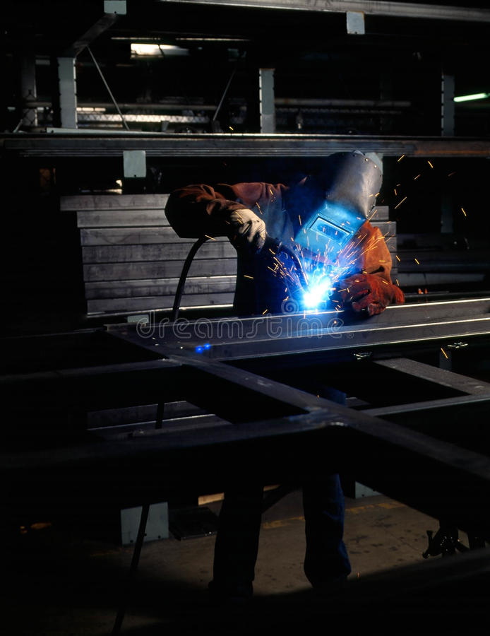 Man welding stock photos