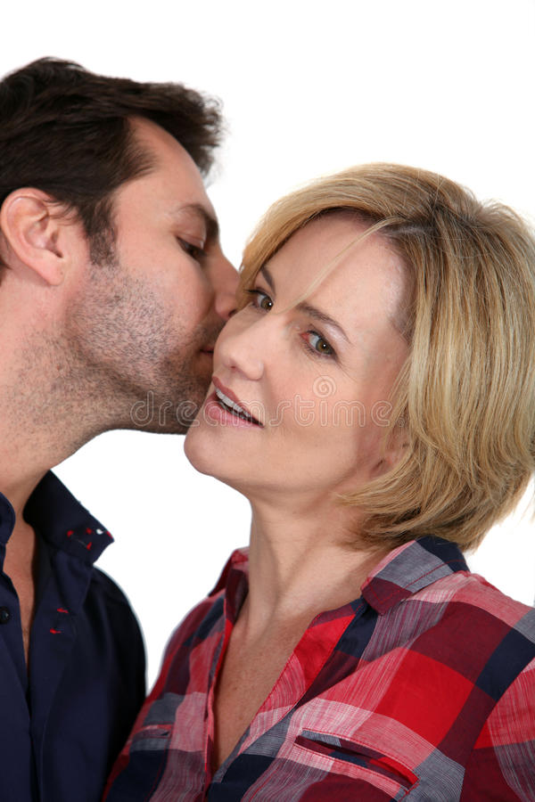 Download Man whispering stock photo. Image of gossip, husband - 23549758