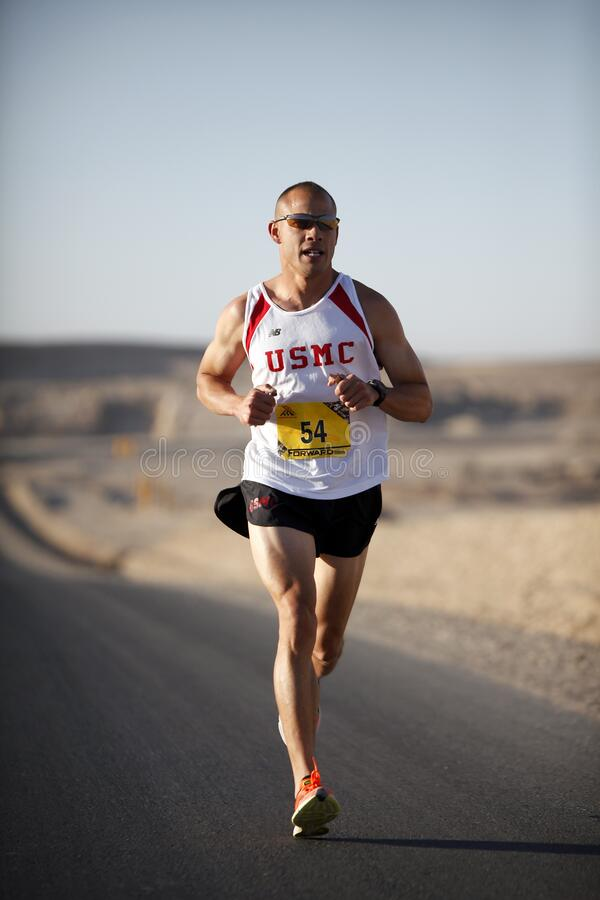 Man In White Jersey While Running Free Public Domain Cc0 Image