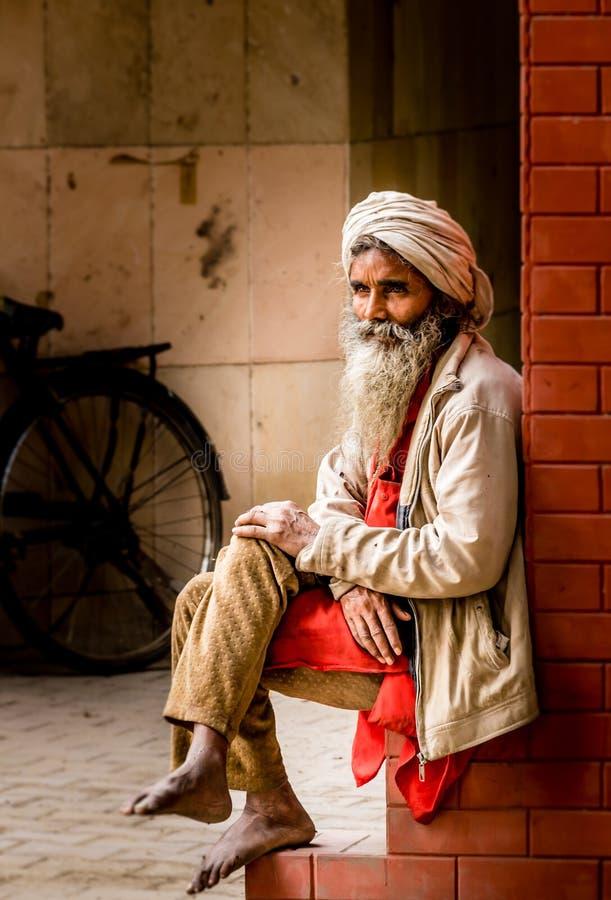 Man In White Kafiyeh Sitting Free Public Domain Cc0 Image