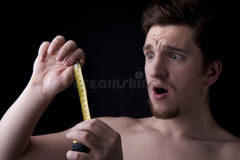Man who looks at roulette. Image of a man who looks at roulette stock photo