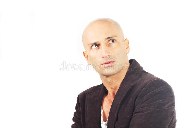 Download Man who thinks stock image. Image of forehead, annoyed - 28754139