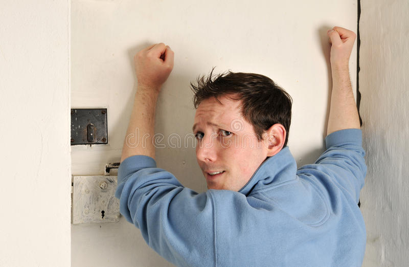 Man will out royalty free stock photos